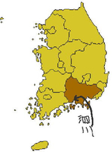 South_gyeongsang_map
